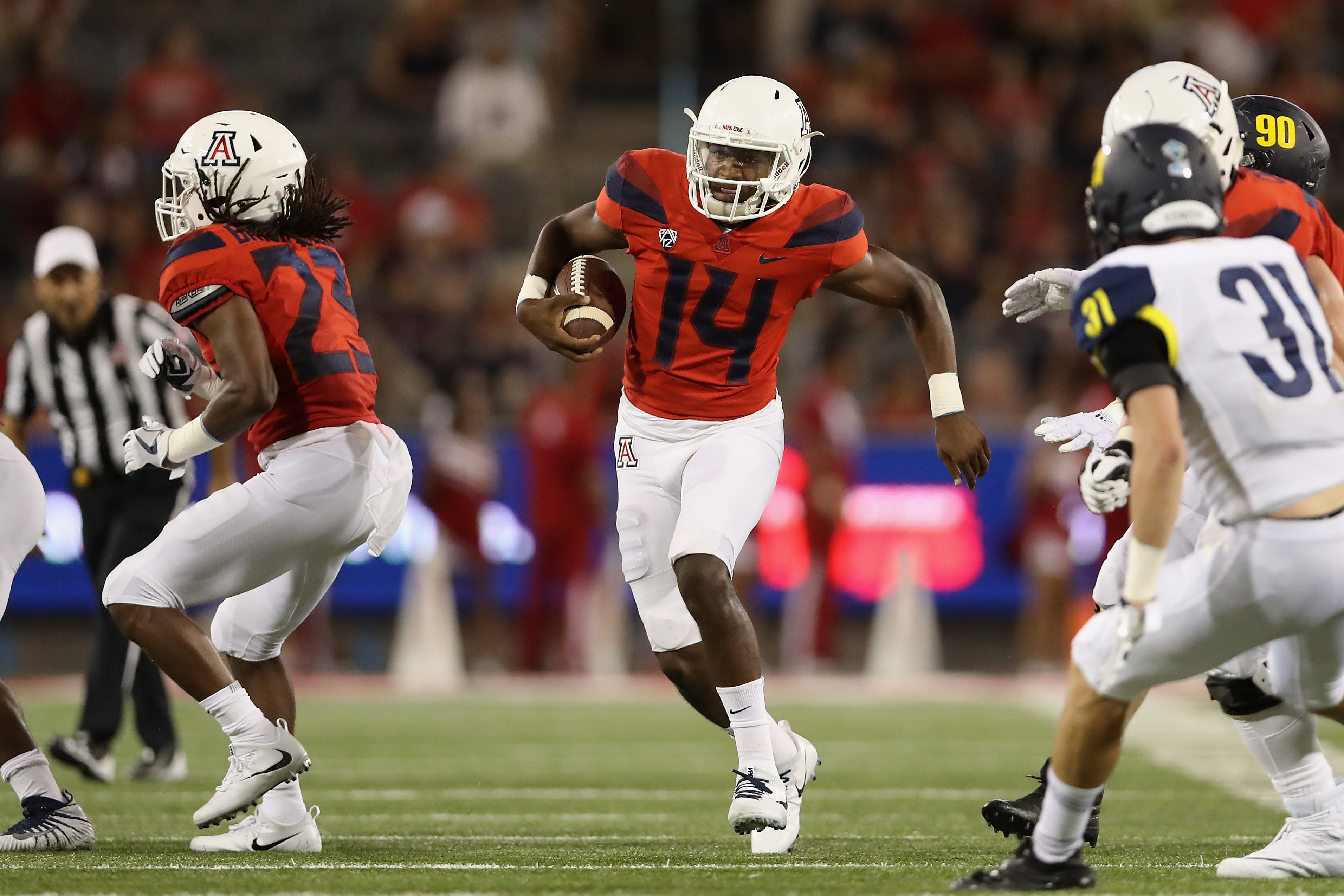 Khalil Tate rips off another massive TD run